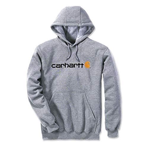 Carhartt Signature Logo Midweight Sweatshirt Sweat Homme - Gris - L