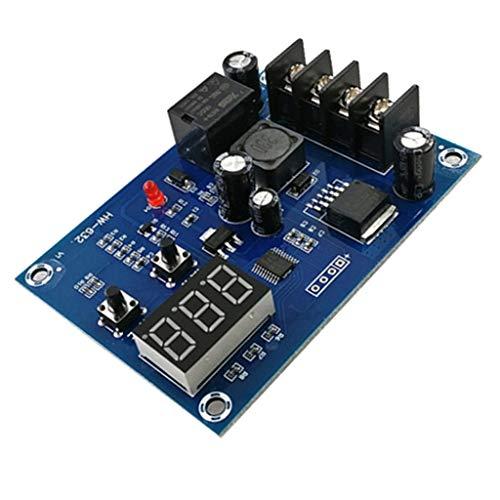 F Fityle Tablero de Protección de Batería de Litio Del Módulo de Control de Carga Del Cargador de 12V-24V