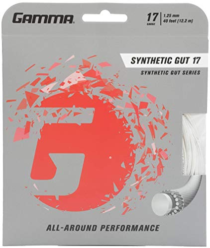 Gamma Synthetic Gut 16G Tennis String Yellow Ferrari Importing Company Incorporated GSG612