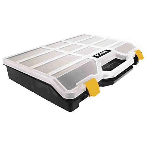 Ironside 100-582 - Caja organizadora (tamaño L 460 x 350 x 81 mm 21 compartimentos (1 pieza)