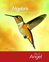 Algebra for College Students (3rd Edition)