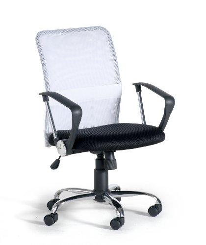 Easychair Palma - Sillón de Oficina Giratorio, Color Blanco