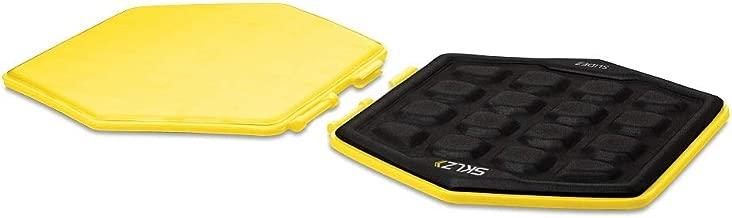 Sklz Unisex Sklz Slidez - Vücut Denge Diskleri, Sarı/Siyah, One Size, Antqqqskl060