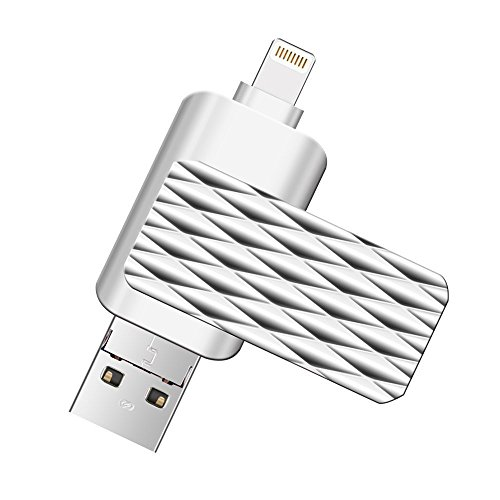 Lightning Flash Drive for iPhone,Suntrsi Pen Drive Lightning Memory Stick External Memory Storage...