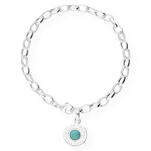 Thomas Sabo Damen Charm Armband 925 Sterling Silber X0229 404 17 L19.5