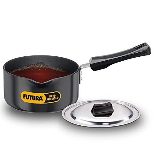 Hawkins Futura Hard Anodised Induction Compatible Saucepan with...