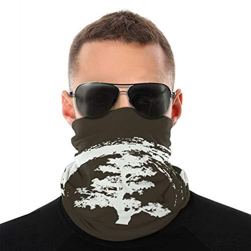 Decopik Splash Japanese Bonsai Tree Headband Neck Gaiter Bandana Balaclava Head Scarf