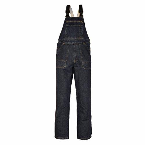 Eiko 4607 Gr. 64 Arbeitshose Jeans - Latzhose, 100% Baumwolle