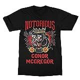 Notorious Conor McGregor - Camiseta para hombre, color negro Negro Negro ( 3XL