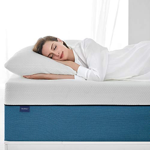 Twin Size Mattress, Molblly 6 inch Cooling-Gel Memory Foam Mattress in a Box, Breathable Bed Mattress for Cooler Sleep Supportive & Pressure Relief, 39' X 75' X 6'