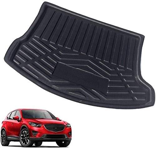 Wasserdichte Autostiefelmatten, rutschfeste Auto-Hinterkoffer-Zubehör Rücksitz-Abdeckung Boot-Liner-Tablett-Matte, die für Mazda zugeschnitten ist 3-Sterne Miete Limousine 2011-2017 Speicher-Protector