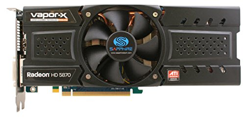 Sapphire Radeon HD 5870 Vapor-X Procesador gráfico Familia procesadores gráficos AMD 2GB - Tarjeta gráfica (2560 x 1600 Pixeles, AMD, 850 MHz, 2 GB, GDDR5, 256 bit)