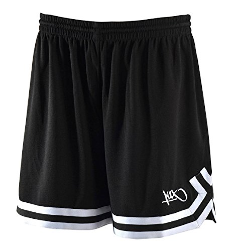 K1X hardwood ladies double x shorts schwarz/weiß