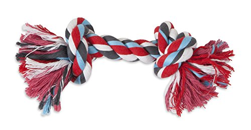 Aspen Pet Booda Multicolor Large Rope Bone for Dogs 44-85lbs by Petmate