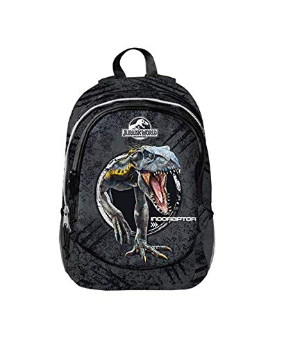 Zaino Scuola 2020 Jurassic World 3 Cerniere Imbottito 43cm