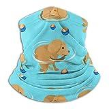 LinUpdate-Store Polaina de cuello, personaje de perro de juego Cachorro de pura raza divertida Polaina de cuello Escudo Bufanda Pañuelo Pañuelo Cubierta de la cara Diademas