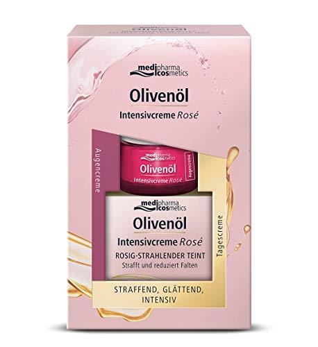 OLIVENÖL INTENSIVCREME Rose Tagescreme+Augencreme, 240 g