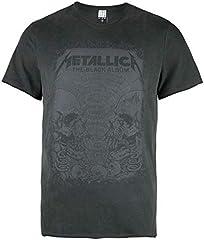 Amplified Metallica-The Black Album Camiseta para Hombre