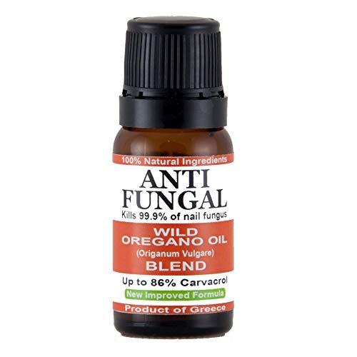 Huile d'origan sauvage - Convient pour les ongles des doigts et des orteils - Ingrédients 100 % naturels et biologiques