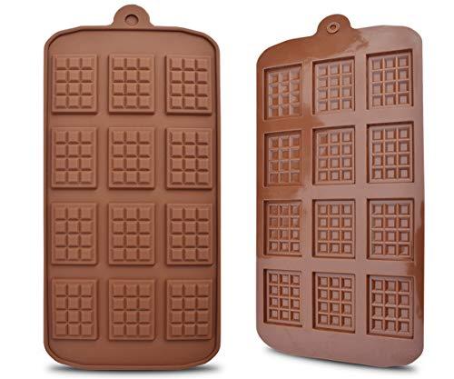Stampo in Silicone 12 Anche Mini Muffa Del Cioccolato Fondente Stampi Fai da te Candy Bar Muffa Della Decorazione Della Torta Utensili Da Cucina Strumenti di Cottura