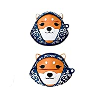 Airpods 1&2for女性レディースガールズキッズヘッドホンケースに対応キーホルダーかわいいかわいい柴犬Airpodケースおかしい漫画Airpods Proのケースカバーソフトシリコン保護カバーケース (Size : Airpodspro)