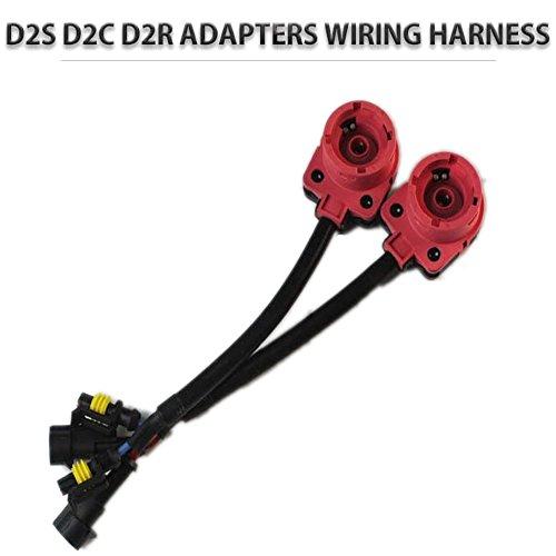 PolarLander 2PCS HID Sockets HID porteurs Xenon D2S D2R D2C Connecteur Câblage Ampoules Adaptateurs