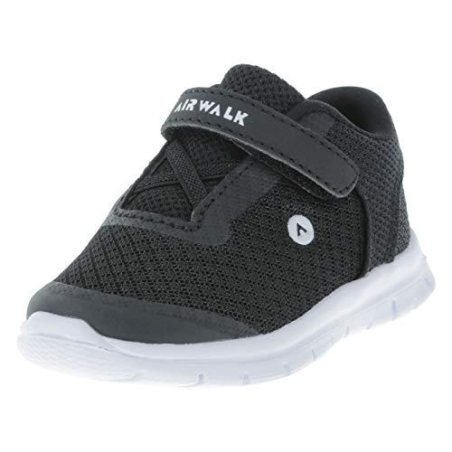 Airwalk Boy's Infant Black White Gusto Crosstrainer Infant Size 4 Wide