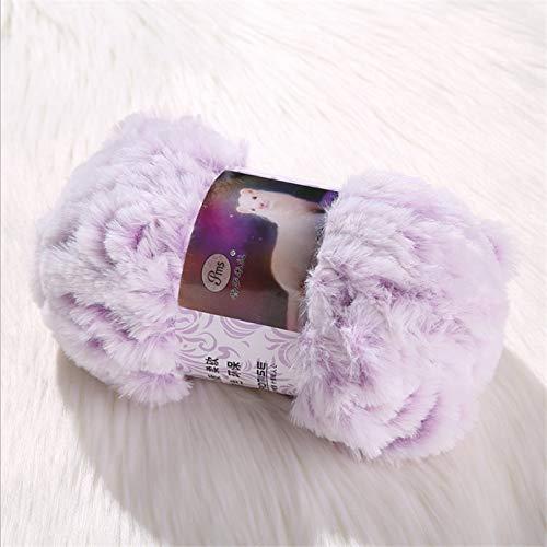 50 g/Roll Garen Faux Bont Mohair Wol Cashmere Garen Winter Voor DIY Hand Breien Gehaakte Trui Schroefdraad Baby Kleding Sjaal Hoed Garen