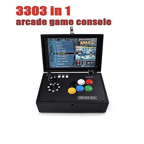 DZSF 3303 in 1 Box10.1Inch Bildschirm Arcade-Spielkonsole USB Joystick Tasten 2 Spieler Der Pandora Steuern Maschine Ps1 Tragbarer