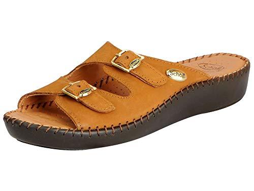 Dr. Scholl's Women's Tan Fashion Sandal - 4 UK