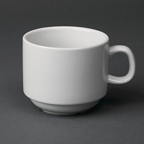 Olympia CB467apilables taza de té, 7oz (Pack de 12)