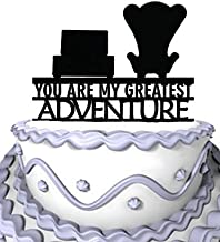 Meijiafei Wedding Cake Topper - Up You Are My Greatest Adventure for Celebration Party Supplies