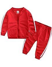 junkai Moda Primavera Otoño Bebé Niños Niñas Deporte Conjunto Chaqueta+Pantalones 2pcs/Sets Niños Chándal Bebé Ropa Conjunto Bebé Conjunto