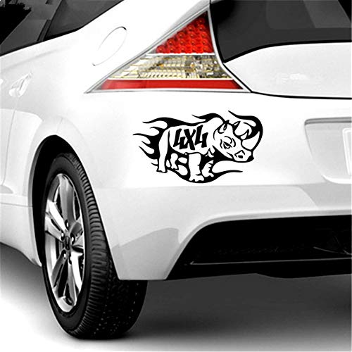 Car sticker pieces Rhino off-road and decal car sticker 11.2 * 20cm car decal