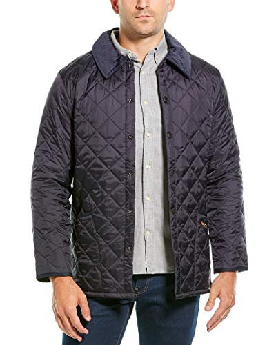 Barbour Mens Heritage Liddesdale Quilted Jacket, Xs Navy
