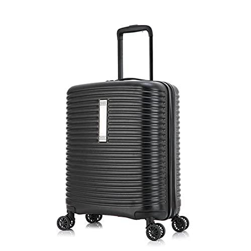 Carrylove 50,8 cm ABS duro llevar en la maleta linda bolsa de la carretilla de la cabina equipaje de mano, White, 20' (50,8 cm),