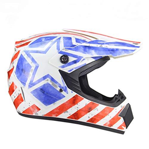 Offroad farbiger Schutzhelm Motorradhelm Schutzhelm Capacete Motorrad für Damen Herren Offroad Motocross Helme Dot Approved
