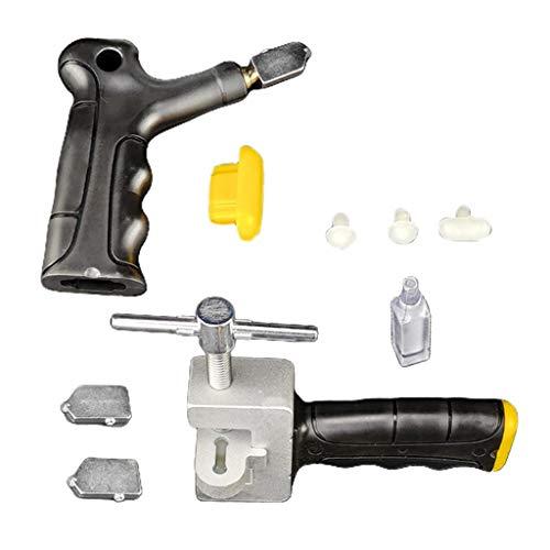 CUTICATE Fliesenschneider Handgriff Glasöffner Kit Fliesenschneider Glaswerkzeuge