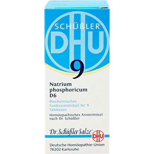 DHU Schüßler-Salz Nr. 9 Natrium phosphoricum D6 Tabletten, 80 St. Tabletten