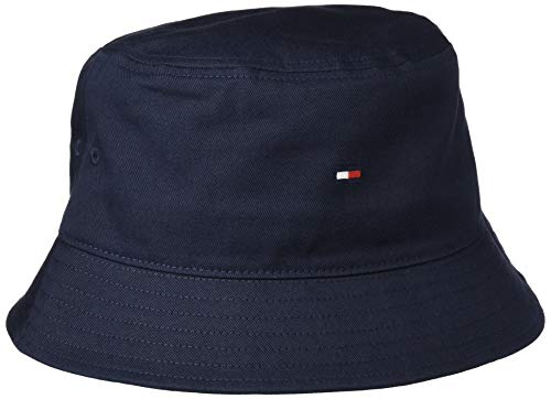 Tommy Hilfiger Flag Bucket Hat Gorro/Sombrero, Cielo del Desierto, Taille Unique para Hombre