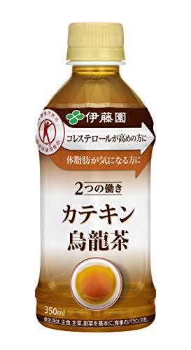 [トクホ] 伊藤園 2つの働き カテキン烏龍茶 (電子レンジ対応) 350ml ×24本