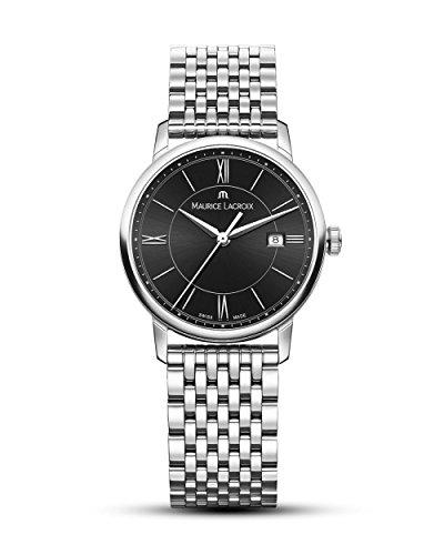 Maurice Lacroix Reloj Analógico para Mujer de Cuarzo con Correa en Acero Inoxidable EL1094-SS002-310-1