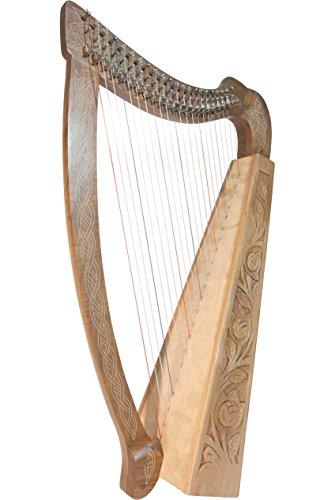 Roosebeck Celtic Heather Harp, 22-String...