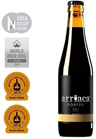 Cerveza Artesanal ARRIACA PORTER (24 botellas x 33cl)