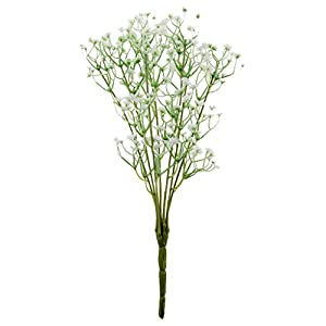 Silk Flower Arrangements GzxLaY Gypsophila Baby's Breath Artificial Flower Plant Home Wedding