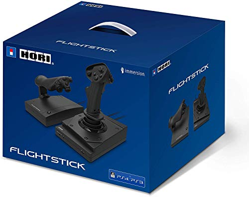 Hori Flight Stick HOTAS per PS4/PS3/PC - Ufficiale Sony - PlayStation 4