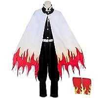 MAKE CHEERFUL 煉獄 コスプレ 衣装 (煉獄, XL)