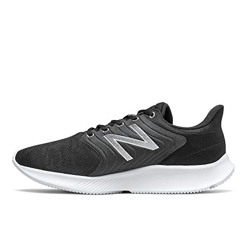 New Balance Dynasoft 068 V1 - Zapatillas de correr para hombre, plateado (Negro/Blanco), 44.5 EU