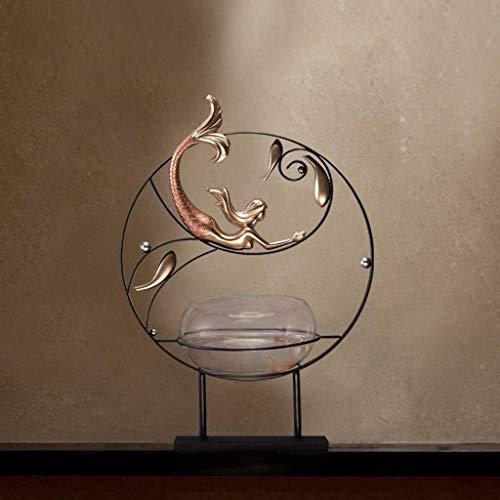 Sculptuur Ambachten Decoratie Creatieve Sculptuur Praktische Huis Ingang Kast Decoraties Zen Woonkamer Model Aquarium Ruimteproces Decoratie Ornamenten