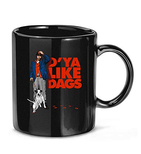 D'Ya Like Dags Snatch Brad Pitt Guy Ritchie Movies Film Comic Coffee Mug For Women and Men Tea Cups